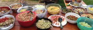 Salatbuffet 2016 Sommerfest